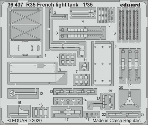 R35 French Light Tank (for Tamiya), 1:35