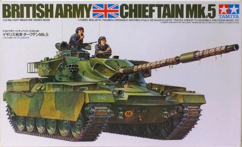 British Army Chieftain Mk.5, 1:35 (pidemmällä toimitusajalla)