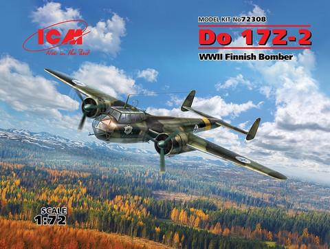 Do 17Z-2 WWII Finnish Bomber, 1:72