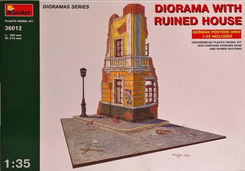 Diorama With Ruined House, 1:35 (pidemmällä toimitusajalla)