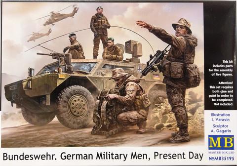 Bundeswehr, German Military Men, 1:35
