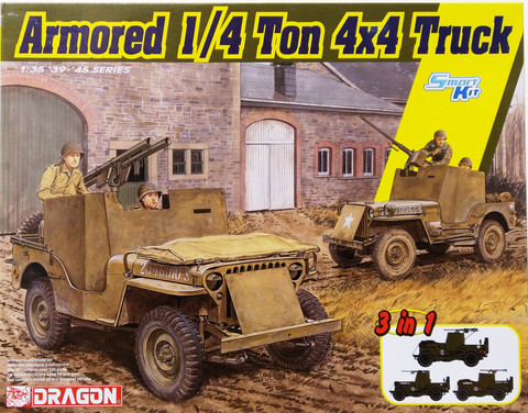 Armored 14 Ton 4x4 Truck, 1:35