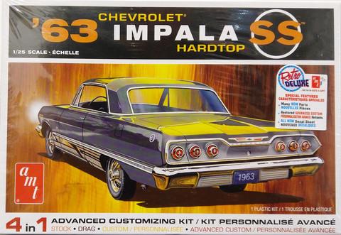 Chevrolet Impala SS '63 Hardtop, 1:25 (pidemmällä toimitusajalla)
