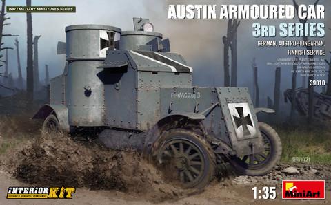 Austin Armoured Car 3rd Series, 1:35