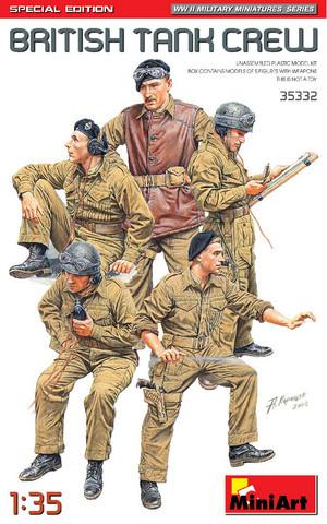 British Tank Crew, Special Edition, 1:35 (pidemmällä toimitusajalla)