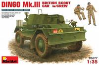Dingo Mk. III British Armoured Car with Crew, 1:35