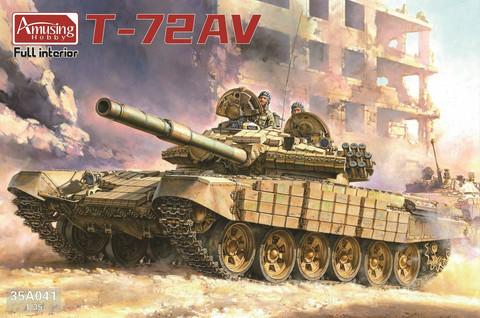 ENNAKKOTILAUS T-72 AV Full Interior, 1:35