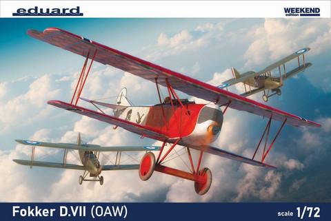Fokker D.VII (OAW), 1:72