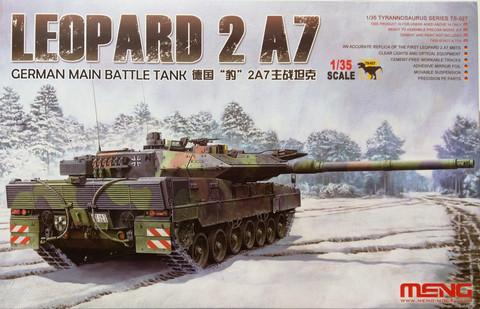 Leopard 2 A7 Main Battle Tank, 1:35 (pidemmällä toimitusajalla)