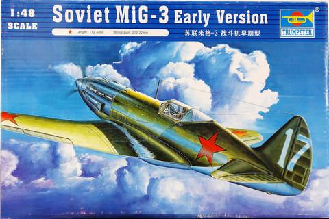 Soviet MiG-3 Early Version, 1:48 (pidemmällä toimitusajalla)