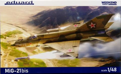 MiG-21bis, 1:48 (pidemmällä toimitusajalla)