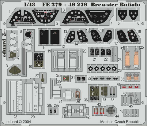 Brewster Buffalo (for Tamiya), 1:48