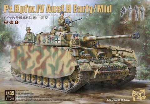 Pz.Kpfw.IV Ausf.H Early/Mid, 1:35 (pidemmällä toimitusajalla)