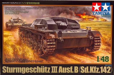 Sturmgeschütz III Ausf. B (Sd.Kfz.142), 1:48