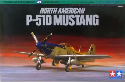 North American P-51D Mustang, 1:72