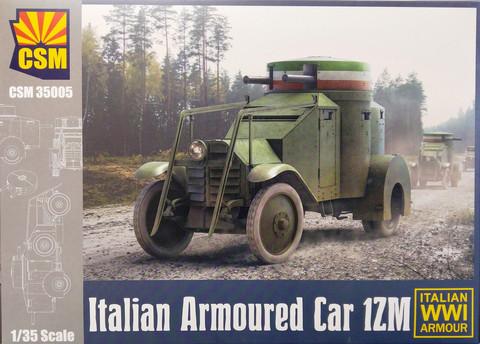 Italian Armoured Car 1ZM, 1:35