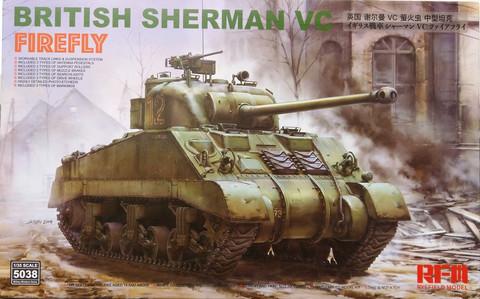 British Sherman VC Firefly, 1:35 (pidemmällä toimitusajalla)