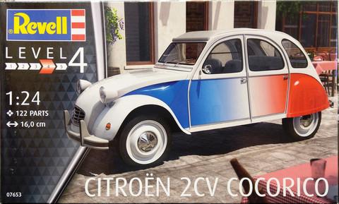Citroën 2CV Cocorico, 1:24 (pidemmällä toimitusajalla)
