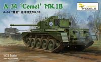 A-34 Comet Mk.1b, 1:72 (pidemmällä toimitusajalla)
