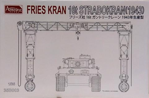 Fries Kran 16t Strabokran (1943), 1:35