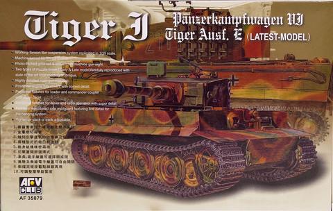 Tiger I Ausf. E, 1:35 (pidemmällä toimitusajalla)