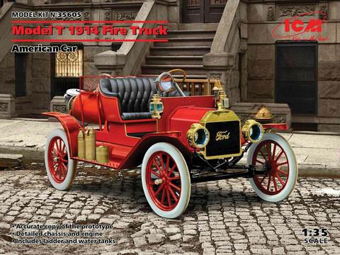 Model T 1914 Fire Truck, 1:35 (Pidemmällä Toimitusajalla)