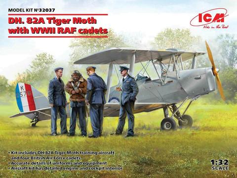 DH. 82A Tiger Moth with WWII RAF cadets, 1:32 (Pidemmällä Toimitusajalla)