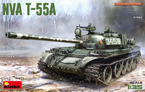 NVA T-55A, 1:35 (Pidemmällä Toimitusajalla)