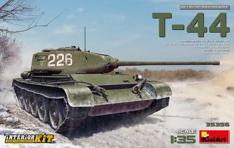 T-44 Interior Kit, 1:35 (Pidemmällä Toimitusajalla)