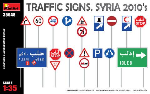 Traffic Signs Syria 2010's, 1:35 (Pidemmällä Toimitusajalla)
