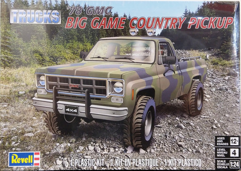 GMC Big Game Country Pickup '78, 1:24