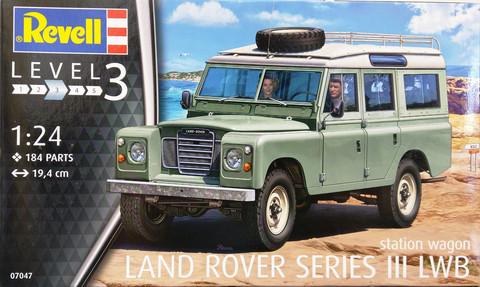 Land Rover Series III LWB, 1:24 (pidemmällä toimitusajalla)