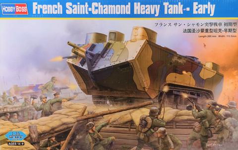 French Saint-Chamond Heavy Tank (Early), 1:35