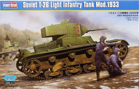 Soviet T-26 Light Infantry Tank Mod.1933, 1:35