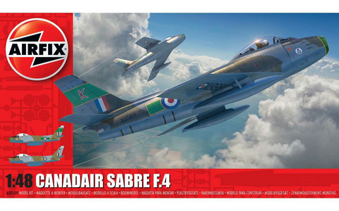 Canadair Sabre F.4, 1:48 (Pidemmällä Toimitusajalla)