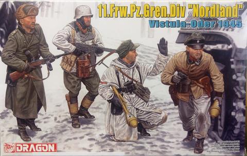 11.Frw.Pz.Gren.Div. Nordland Vistula-Oder 1945, 1:35