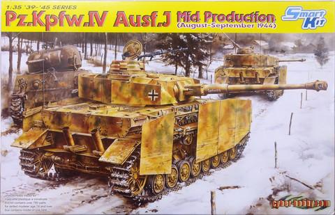 Pz.Kpfw.IV Ausf.J Mid Production, 1:35