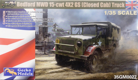 Bedford MWD 15-cwt 4x2 GS (Closed Cab) Truck, 1:35