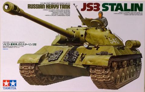 Russian Heavy Tank JS3 Stalin, 1:35 (pidemmällä toimitusajalla)