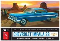 1961 Chevy Impala SS, 1:25 (Pidemmällä Toimitusajalla)