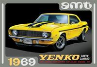 1969 Chevy Camaro Yenko, 1:25 (Pidemmällä Toimitusajalla)