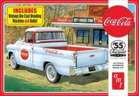 1955 Chevy Cameo Pickup Coca Cola, 1:25 (Pidemmällä Toimitusajalla)