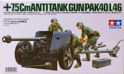 7,5cm Anti Tank Gun (PAK40/L46), 1:35