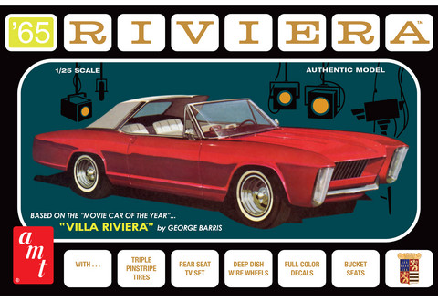 1965 Buick Riviera, 1:25 (Pidemmällä Toimitusajalla)