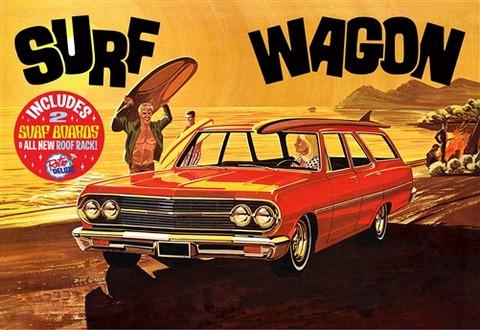 1965 Chevy Chevelle Surf Wagon, 1:25 (Pidemmällä Toimitusajalla)