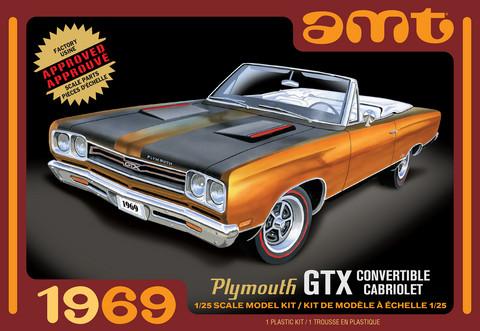 1969 Plymouth GTX Convertible, 1:25 (Pidemmällä Toimitusajalla)