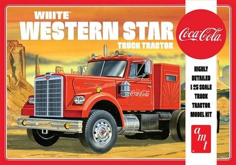 White Western Star Semi Tractor Coca Cola, 1:25 (Pidemmällä Toimitusajalla)