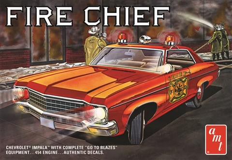1970 Chevy Impala Fire Chief, 1:25 (Pidemmällä Toimitusajalla)