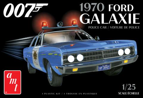 1970 Ford Galaxie Police Car (James Bond), 1:25 (Pidemmällä Toimitusajalla)