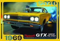 1969 Plymouth GTX Hard Top Pro Street, 1:25 (Pidemmällä Toimitusajalla)